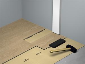 comment poser votre sol en lvt livyn infini legno. Black Bedroom Furniture Sets. Home Design Ideas